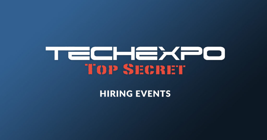 TECHEXPO Top Secret Hiring Events